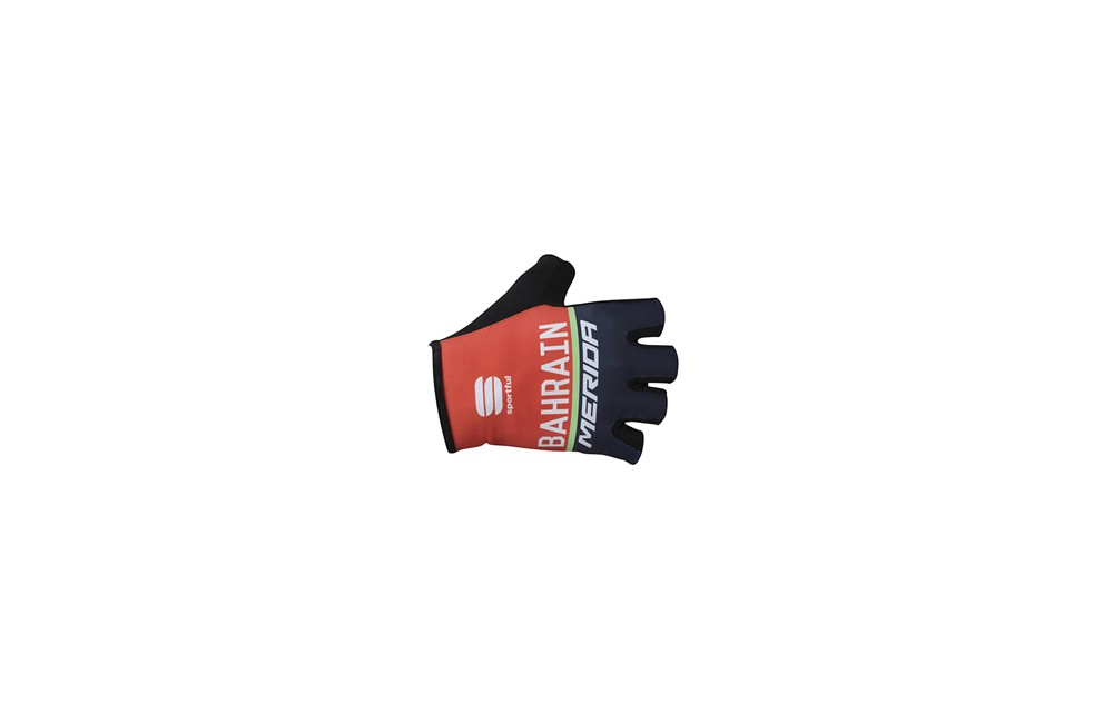 BAHRAIN-MERIDA cycling gloves 2017 Men
