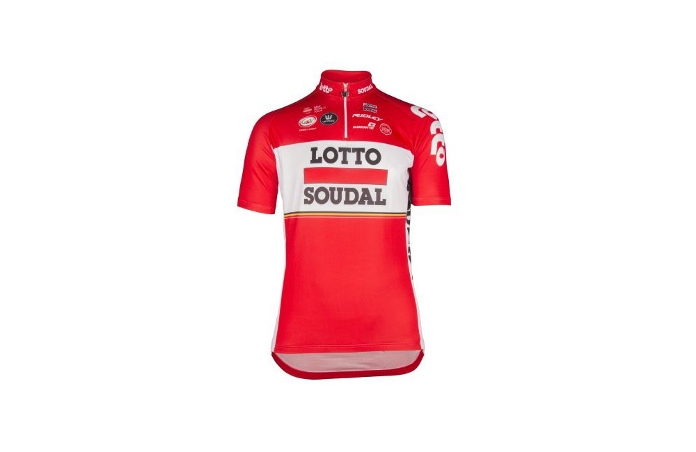 LOTTO SOUDALs' jersey 2017 Children