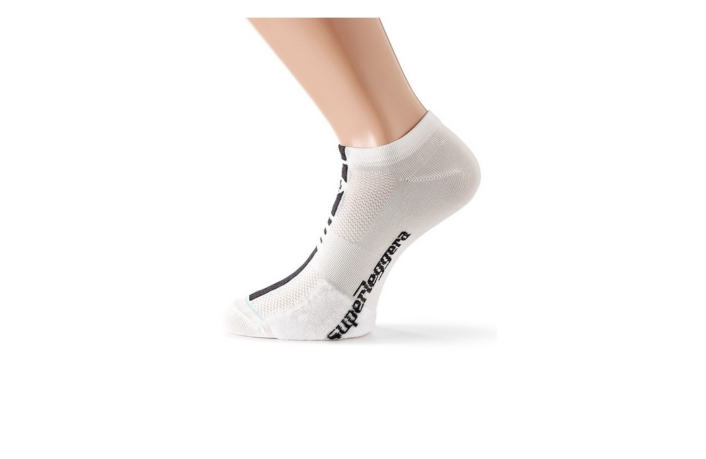 Assos Superleggera S7 White summer socks Men